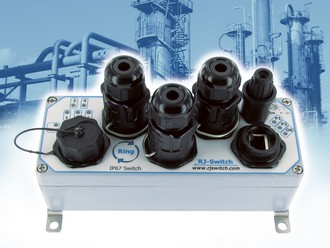 ATEX Zone 2 ethernet switch for the process industries