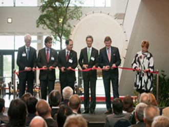 Official opening of European headquarters