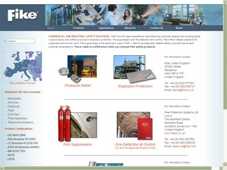 Relaunched website provides product and application information