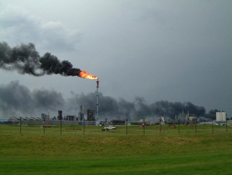 Fire at refinery in Corpus Christi, Texas