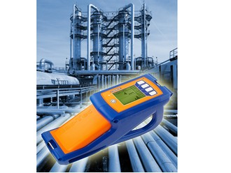 Hydrocarbon gas detector for leak survey and localisation