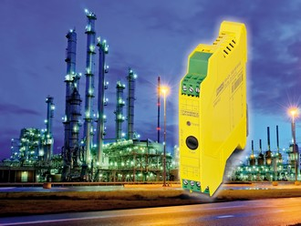 Safety coupling relays for process technology