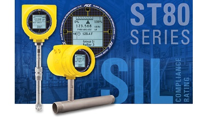 SIL compliant ST80 Series Thermal Mass Flow Meter