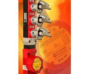 Explosion protected safety switch key station