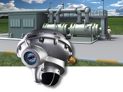 Gas detector protects gas compressor stations
