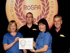 Parker Racor achieve the RoSPA Gold standard