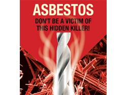 A target of 4000 hours of free asbestos awareness training has been set in a new initiative to help tradesmen across Britain protect themselves from the deadly dust