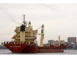 The MCP Kopenhagen kept the ammonium nitrate offshore while the owner carried out maintenance at its plant