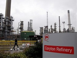 Royal Dutch Shell, Greenergy and Vopak have expressed interest in buying Coryton for storage purposes