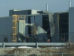 The 2010 explosion caused serious damage to the Blacksburg plant