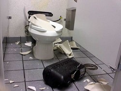 Exploding Flushmate III toilets have caused serious laceration injuries