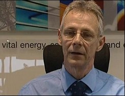 The National Grid's Chris Train says electricity supply issues are regularly reviewed with the security services