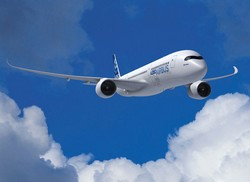 The Airbus A350 will be launched in 2014