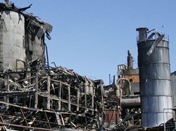 The dust explosion at the Port Wentworth plant on February 7, 2008, killed 14 and injured a further 36