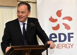 EDF Energy CEO Vincent de Rivaz is holding out for a high strike price for new nuclear-generated electricity