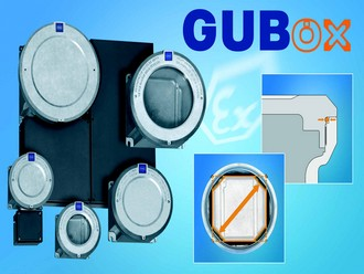 Explosion-proof light-metal enclosures for electric equipment