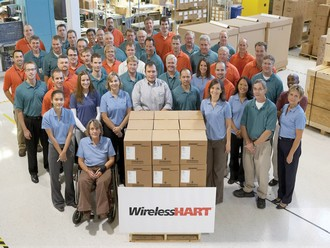 Emerson begins shipping open standard WirelessHart automation products